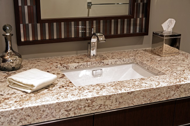 Bathroom Trends: Gorgeous Granite Accents